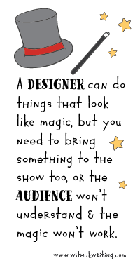 Before you hire a website designer, you need to do this! www.withakwriting.com