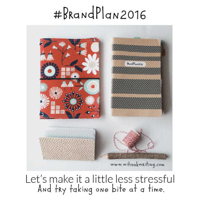 These 4 Planning Steps are Going to Keep me off the Ledge this Year | BrandPlan2016 | Kris With a K