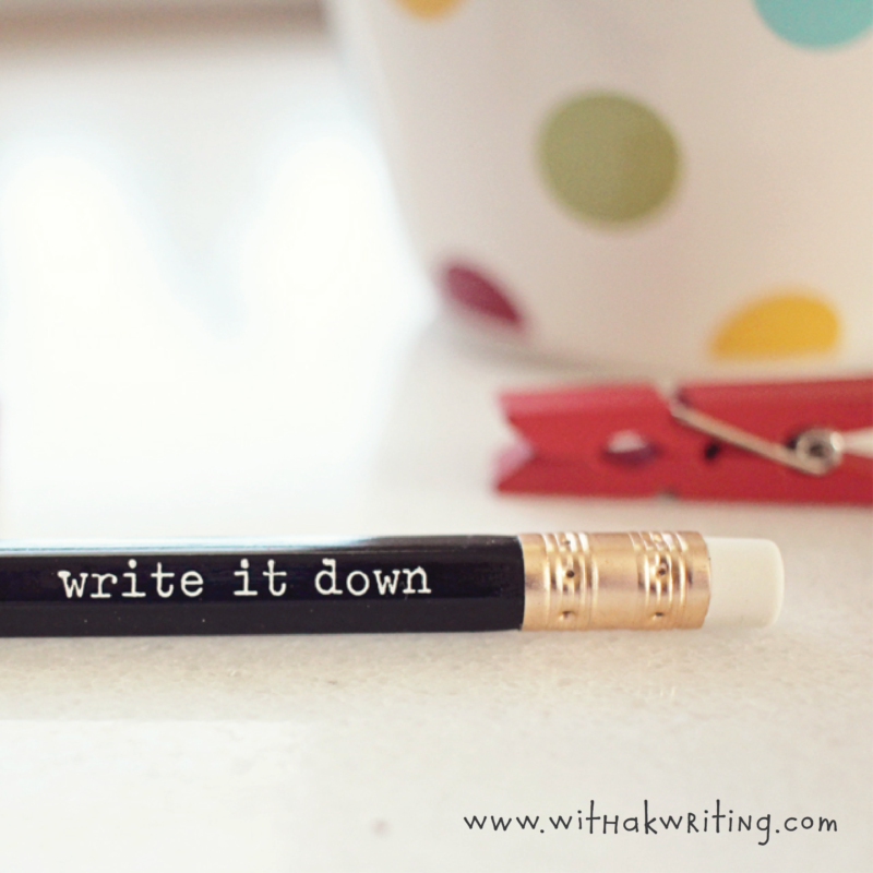 3 things to do to BE a writer | With a K Writing