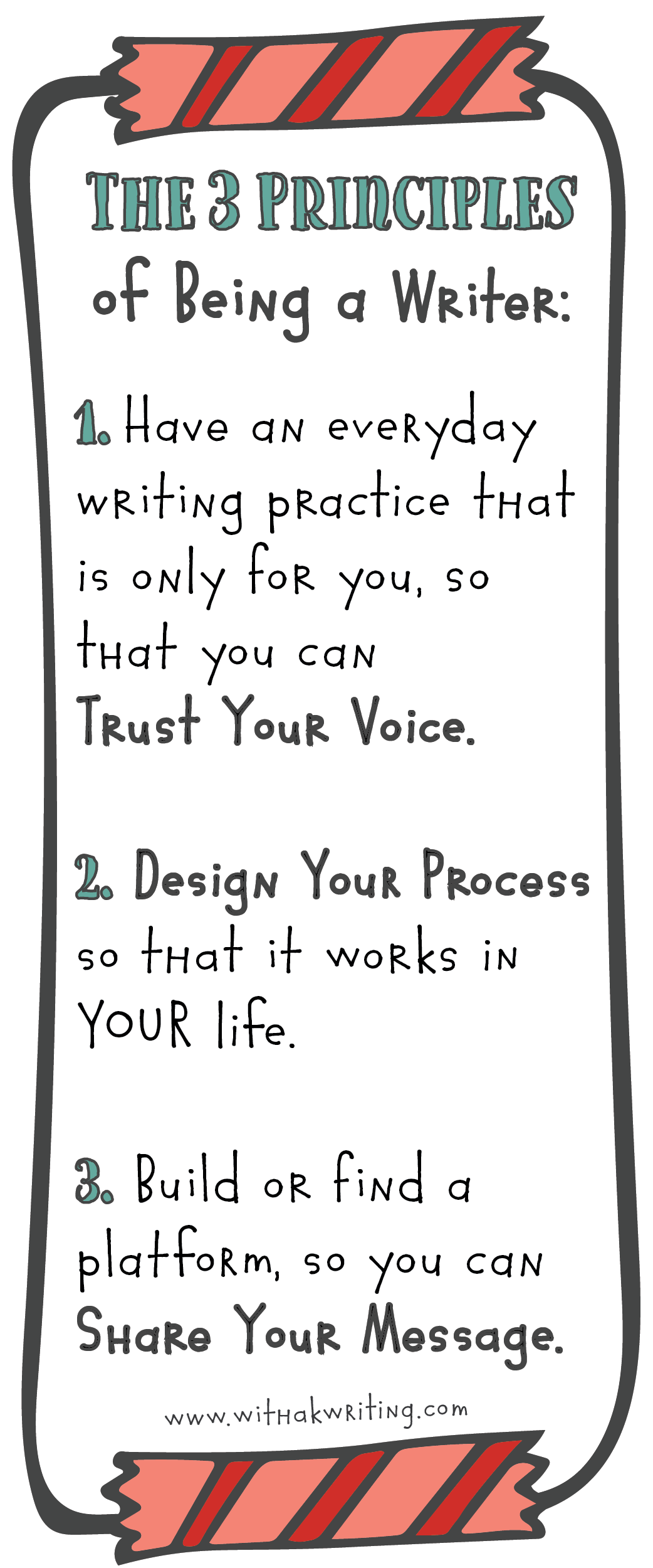 If you want to be a writer, you need to be doing these 3 things. ~Kris Windley (With a K Writing)