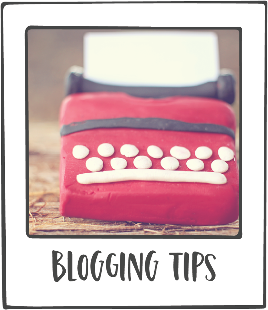 I share blogging tips on my blog often.