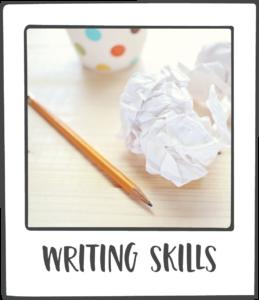 I write about writing A LOT