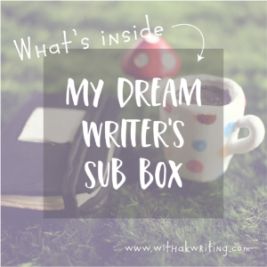 Check out what I'd put in a Writers' Box this Spring