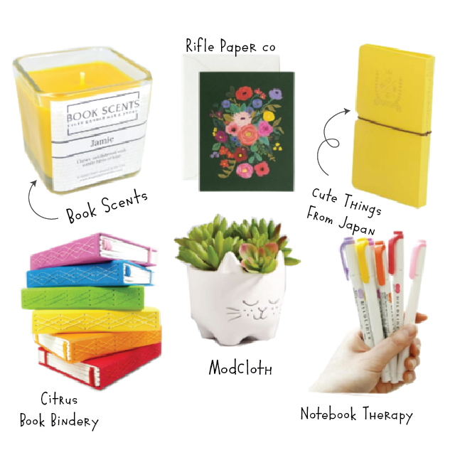 Add joy to your writing practice with this make believe spring writer's box